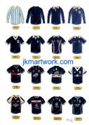 print of  dundee fc shirts a3 size